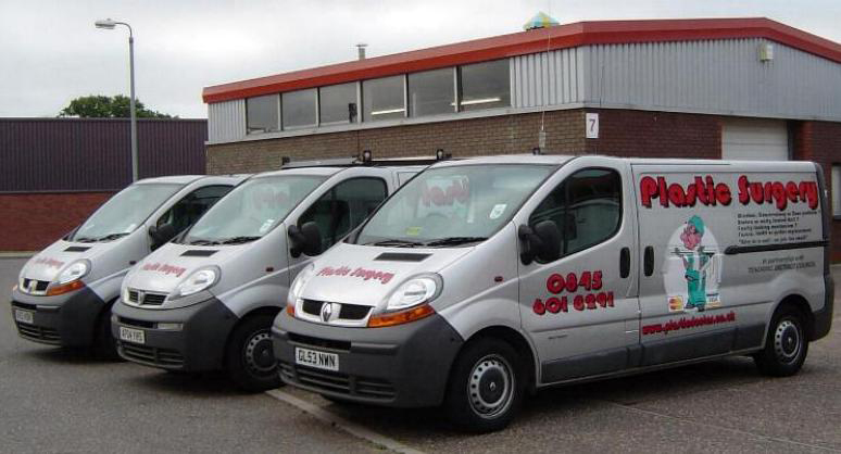 Windows plastic doctor vans